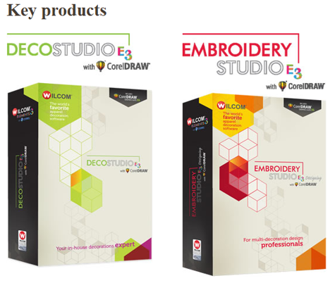 Wilcom Software Sales Embroidery Studio E3 Decostudio E3